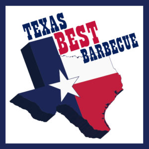 TX barbecue icon logo